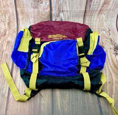 Eurohike Merlin 191 Rare Rucksack Used Bag Hiking Walking Camping Biking vintage