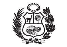 Nuevo Escudo Peruano by IS Creative Studio., via Behance Tattoo Peru, Inca Tattoo, Wall Decor Stickers, Vinyl Decals, Inca Art, Atlas Tattoo, Peruvian Art, Cricut, Popular Tattoos