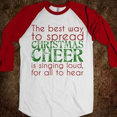 I want this shirt for Christmas. I love Elf!