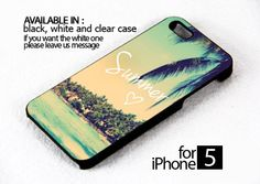 AJ 202 Summer Love Vintage Beach - iPhone 5 Case | FixCenter - Accessories on ArtFire