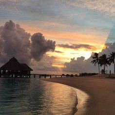 Some of the best things in life are free, including views like this at Conrad Maldives Rangali Island