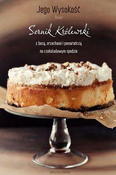Polish Desserts, Polish Recipes, Cookie Desserts, Just Desserts, Polish Food, Caramel Cheesecake, Cheesecake Recipes, Dessert Recipes, Sweet Pastries