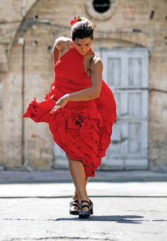 Flamenco dancer in Spain. Photo by Rami Katzav