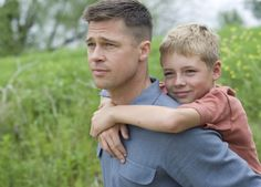 """Brad Pitt in """"The Tree of Life."""" I think that this movie is the purest distillation of childhood's innocence I've ever seen.     I read a review that called it less a movie and more a poem, and I think that is the correct way to understand this film. An ode."""
