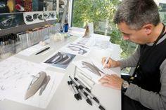2010 Renault ZOE Concept Interior Design sketching
