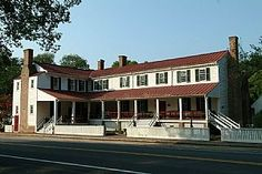 Hanover Tavern, Hanover.  The Tavern has held many roles – inn, stagecoach stop, post office and dinner theater.