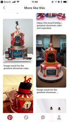The Greatest Showman, Cupcakes, Cupcake Cakes, Cup Cakes, Muffin, Cupcake