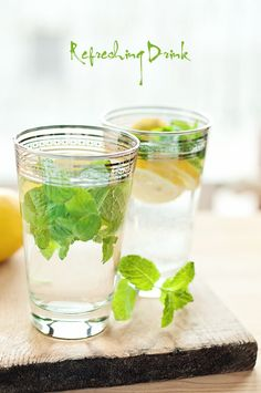 Spring refreshing drink