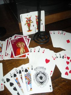 vintage playing cards Metrovick Lamps mid century by LinniR, £11.50