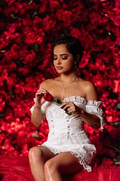 Selena Gomez - December 2019 on We Heart It Becky G Outfits, Cute Outfits, Becky G Clothes, Summer Outfits, Becky G Hair, Becky G Style, Divas, Latin Women, Woman Crush