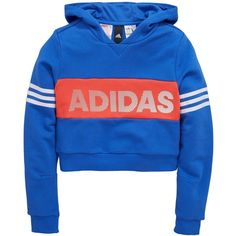 Adidas Older Girl Id Cropped Hoody (330.980 IDR) ❤ liked on Polyvore featuring tops, hoodies, adidas, jackets, shirts, cropped hoodie, sweatshirt hoodies, hooded sweatshirt, hooded pullover and adidas shirt