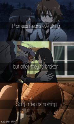 #Anime # Feels. to others they're used to it and it feels like nothing..