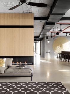 Uri Michael Palan Draws on Pierre Koenig for Tel Aviv Apartment.