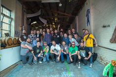 Group photo - the Masterclass of Madness Brooklyn Brewery, Beer Week, Best Beer, Master Class, Madness, Group, Life