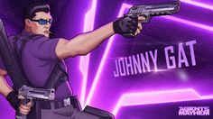 Johnny Gat from Saint's Row presented at Agents of Mayhem Agents of Mayhem PC PS4 Xbox One