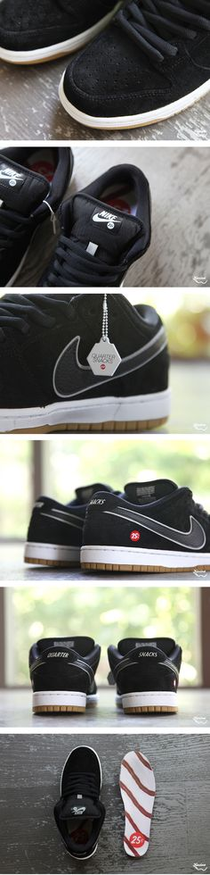 buy popular b7ec1 00a5a Quarter Snacks x Nike SB Dunk Low (Detailed Pictures
