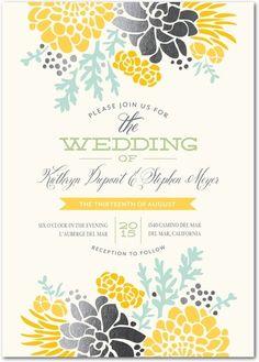 Winsome Blooms | Wedding Paper Divas