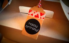 36 Happy Birthday Labels Stickers Envelope by ForSpecialOccasions