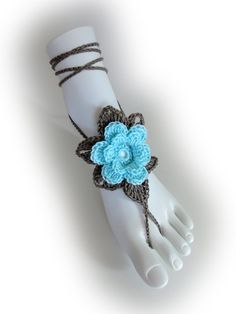 Hey, I found this really awesome Etsy listing at https://www.etsy.com/listing/220687963/flower-barefoot-sandals-23-colors