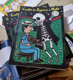 Projeto Literário 4º ano Contos de Enganar a Morte e Ilustrações