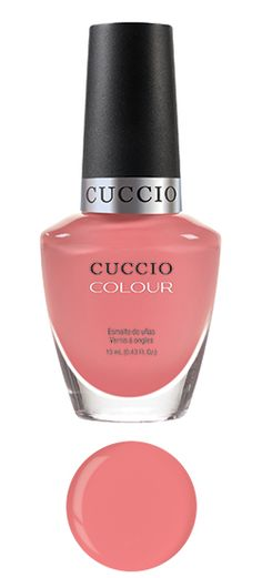 All Decked Out    Tone: coral   Part of the Sicilian Summer Collection   13 mL (0.43 fl. oz.)   Cuccio Colour™ Professional Nail Lacquer is formulated with Triple Pigmentation Technology for rich coverage in one coat and true coverage in two coats. For the Love of Colour™ contains no DBP or toluene.