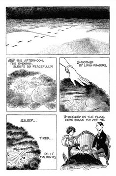 "My complete 24-page comic-book adaptation of the poem ""The Love Song of J. Alfred Prufrock"" by T.S. Eliot (Click on images to enlarge). To those who have asked me where they can find this in print:..."