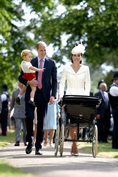 Prince William Photos - The Christening of Princess Charlotte of Cambridge - Zimbio