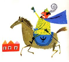 """From Aliki's first book, """"William Tell"""" published in 1960."""
