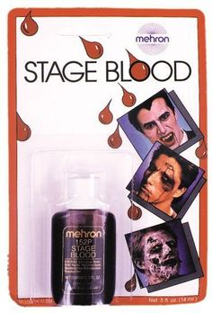 costume accessory: stage blood, carded Case of 8