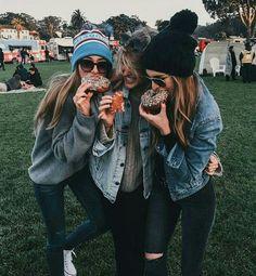 Imagen de friends, donuts, and friendship