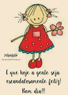 Bom dia! Good Afternoon, Good Morning, Portuguese Quotes, Stick Figures, Family Love, Emoticon, Some Fun, Smiley, Memes