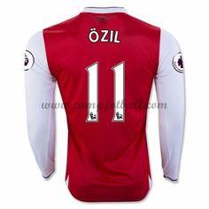 Arsenal Fotballdrakter 2016-17 Ozil 11 Hjemmedrakt Langermet