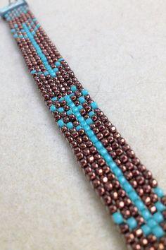 Arrow Bead Loom Bracelet by WanderlustArtistry on Etsy                                                                                                                                                                                 More