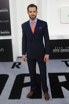 Chris Pine. SubCategory A: Suit Porn. SubCategory B: Unmitigated Beard Porn. SubCategory C: I Absolutely and Thoroughly Hate You, You Gorgeous Bastard.