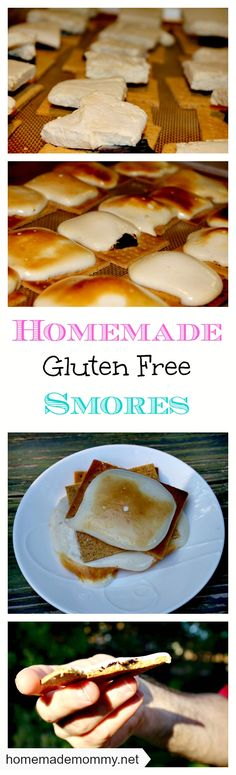 Homemade Grain Free and Gluten Free Smores