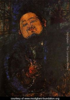 Portrait Of Diego Rivera I - Amedeo Modigliani - www.modigliani-foundation.org