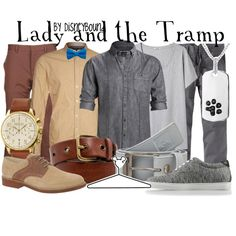 Lady and the Tramp by lalakay on Polyvore