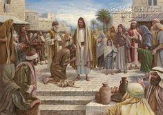 Healing in His Wings by Jon McNaughton     Messiah, Savior, His ministry,  Master, Son of God, Christ