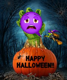 Happy Halloween from Bubblelingo! Share fun Halloween e-cards and stickers  to friends and family with the Bubblelingo Messenger App. Download today in  the ...