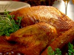 Neely's Deep-Fried Turkey recipe from Patrick and Gina Neely via Food Network.Tried this rub on our turkey today for Thanksgiving and it was amazing and so yummy.and my mommy did a great job at cooking it too! Turkey Rub, Turkey Fryer, Turkey Breast, Rub Recipes, Cooking Recipes, Recipies, Yummy Recipes, Keto Recipes, Thanksgiving Recipes