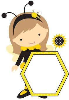 Classroom Labels, Classroom Decor, Bee Template, Bee Clipart, School Border, Kindergarten Coloring Pages, School Frame, Bible Crafts For Kids, Spelling Bee