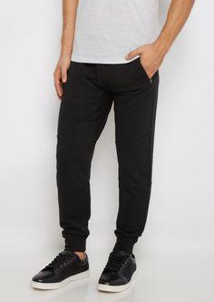 image of Black Zip Pocket Fleece Jogger