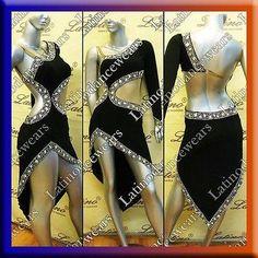Dancewear: LATIN RHYTHM SALSA BALLROOM COMPETITION DANCE DRESS - SIZE S, M, L (LT713) BUY IT NOW ONLY: $159.99 #ustylefashionDancewear OR #ustylefashion