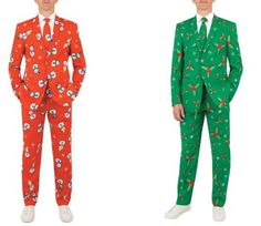 Dobell Launched Christmas Suits That Look Like Gift Wrap