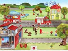 Tiny Firefighters iPad App - Reviewed & RecommendedThis is a simple app with cute illustrations and great accompanying sounds that really is fun...even for adults and older children!  Perfect for special needs and toddlers.