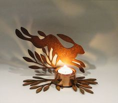 Hey, I found this really awesome Etsy listing at https://www.etsy.com/listing/222030325/hare-and-bay-tea-light-holder-by-ruth