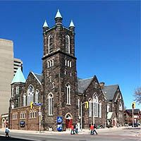 Bloor Street United Church - NEW!  300 Bloor St  Telephone: 416 -924-7439  Saturday:  10 a.m. to 5 p.m., Last admittance: 4:30    Sunday:  Not open