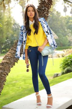 20 Stylish Blazers – Perfect Outfits For Fashion Lovers. I love the bright colors.