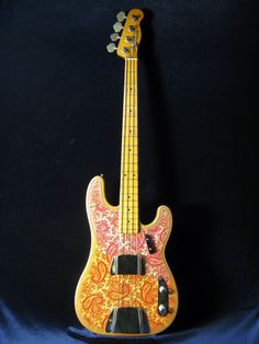 FENDER/USA  TELECASTER BASS PINK PAISLEY 1968