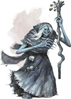 Bheur hag Forgotten Realms, Fantasy Monster, Monster Art, Ice Monster, Dark Fantasy, Fantasy Art, Fantasy Wizard, Dnd Monsters, Arte Horror